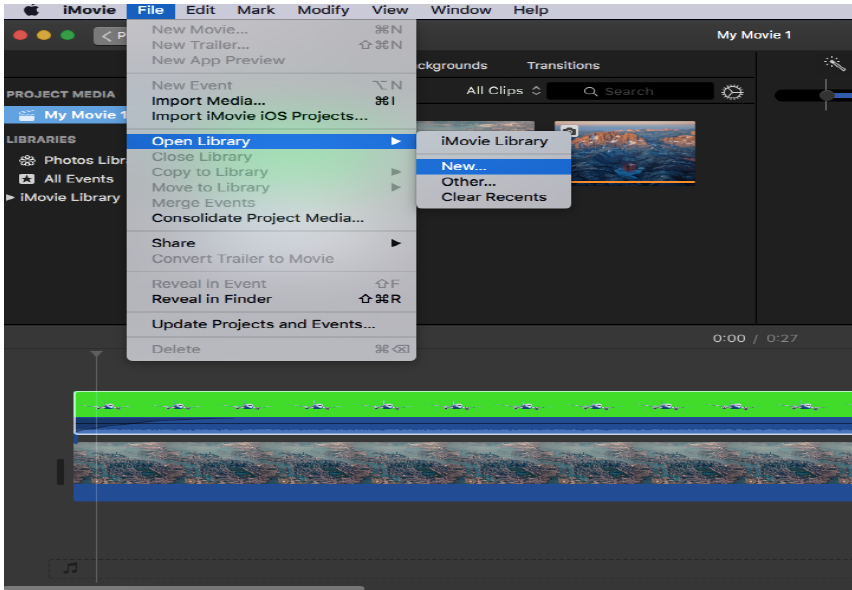 iMovie Tutorial: Adding Images and Videos to Green Screen